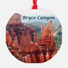 Bryce Canyon, Utah, USA 5 (caption) Ornament