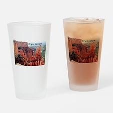 Bryce Canyon, Utah, USA 5 (caption) Drinking Glass