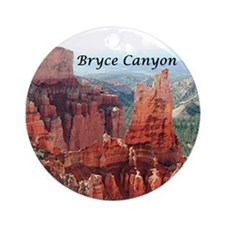 Bryce Canyon, Utah, USA 5 (captio Ornament (Round)