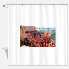 Bryce Canyon, Utah, USA 5 (caption) Shower Curtain