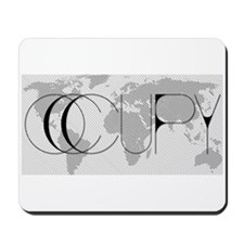 Occupy World Mousepad