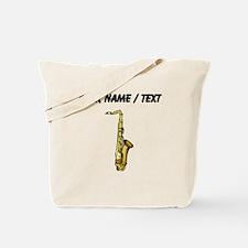 Custom Saxophone Tote Bag