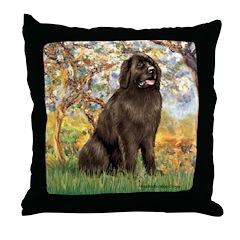 Spring / Newfoundland Throw Pillow