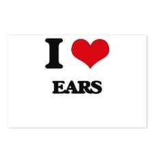 I love Ears Postcards (Package of 8)