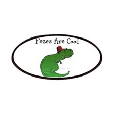 T-Rex - Fezes Are Cool Patches