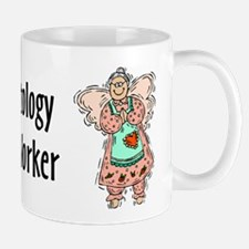 Gerontology SWF Angel Mug