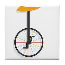 Unicycle Tile Coaster