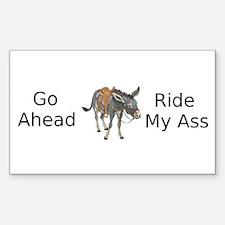 Ride My ASS 2 Decal