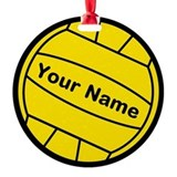 Waterpolo Round Ornament