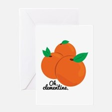 Oh Clementine Greeting Cards