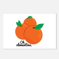 Oh Clementine Postcards (Package of 8)