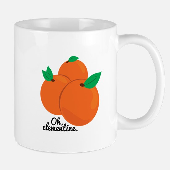 Oh Clementine Mugs