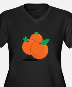 Oh Clementine Plus Size T-Shirt
