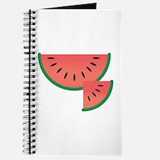 Watermelon Slice Journal
