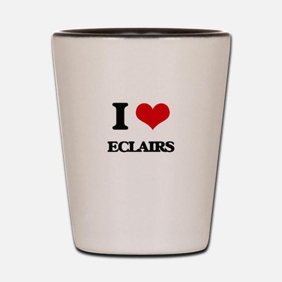 I love Eclairs Shot Glass