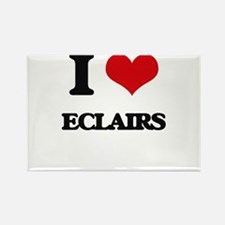 I love Eclairs Magnets