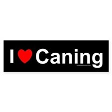 Caning Bumper Sticker