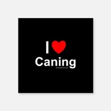 """Caning Square Sticker 3"""" x 3"""""""