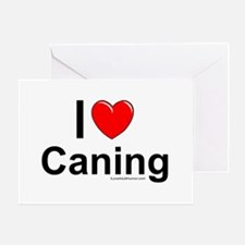 Caning Greeting Card