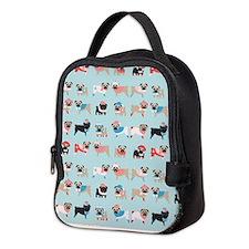 Unique Pug Neoprene Lunch Bag