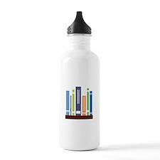 Book Shelf Water Bottle