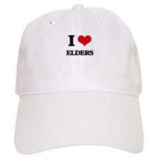 I love Elders Baseball Cap