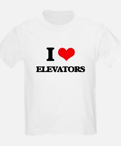 I love Elevators T-Shirt