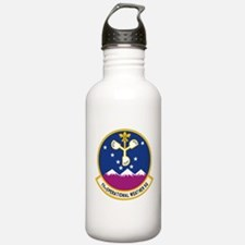 11th Op WX Sq (Color). Water Bottle
