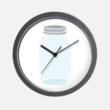 Mason Jar Wall Clock