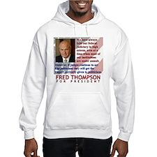 Thompson on Judges Hoodie
