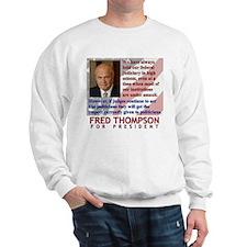 Thompson on Judges Sweatshirt