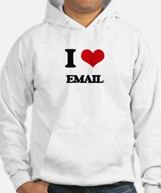 I love Email Hoodie