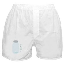 Lid On It Boxer Shorts