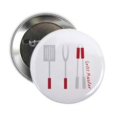 "Grill Master 2.25"" Button (10 pack)"
