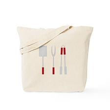 Grill Utensils Tote Bag