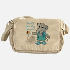Giraffe, Mommy's Best Friend Messenger Bag