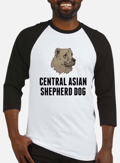 Central Asian Shepherd Dog Baseball Jersey