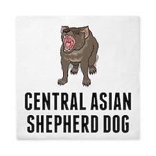 Central Asian Shepherd Dog Queen Duvet