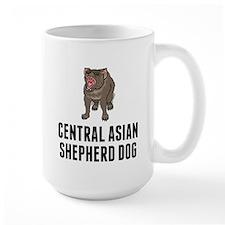 Central Asian Shepherd Dog Mugs