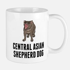 Central Asian Shepherd Dog Mugs