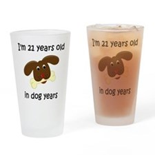 3 dog years 4 Drinking Glass