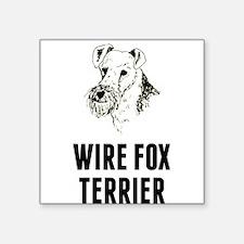 Wire Fox Terrier Sticker