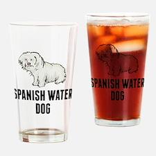 Spanish Water Dog Drinking Glass