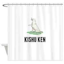 Kishu Ken Shower Curtain