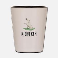 Kishu Ken Shot Glass