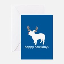 Funny Chicago french bulldog rescue Greeting Card