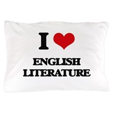 I love English Literature Pillow Case