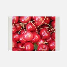 Red Cherries photography Magnets