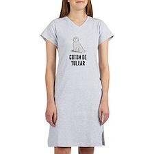 Coton de Tulear Women's Nightshirt