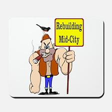 Rebuild Mid-City New Orleans Mousepad